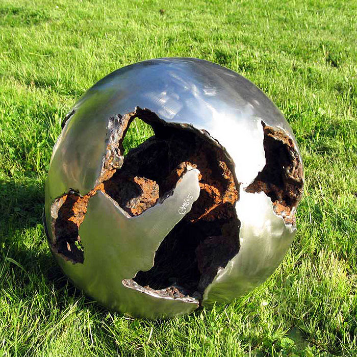 ball sculpture | modern art sculpture