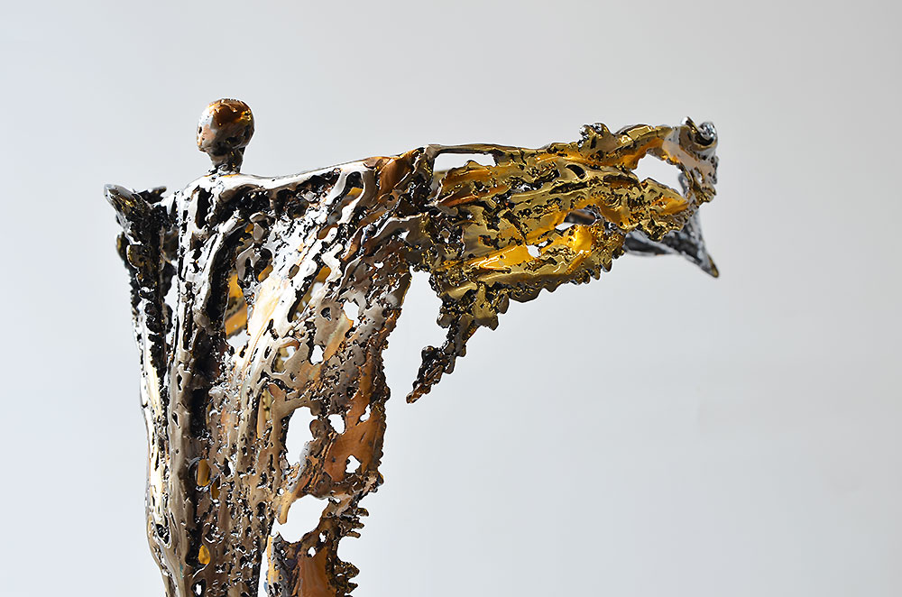 modern metal art | bronze sculpture