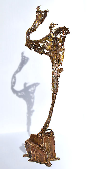 human sculpture | bronze artwork